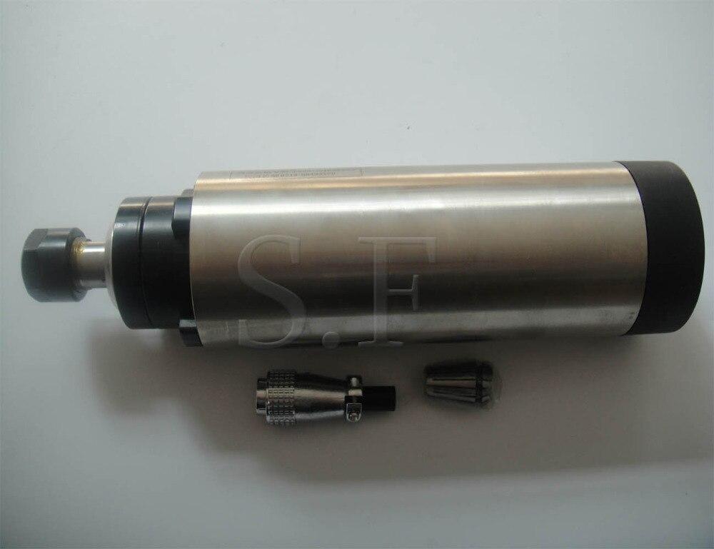 CNC fraisage broche 24000 rpm diamètre 80mm, ER 20 2.2KW air de refroidissement moteur de broche 4 portant pour cnc routeur