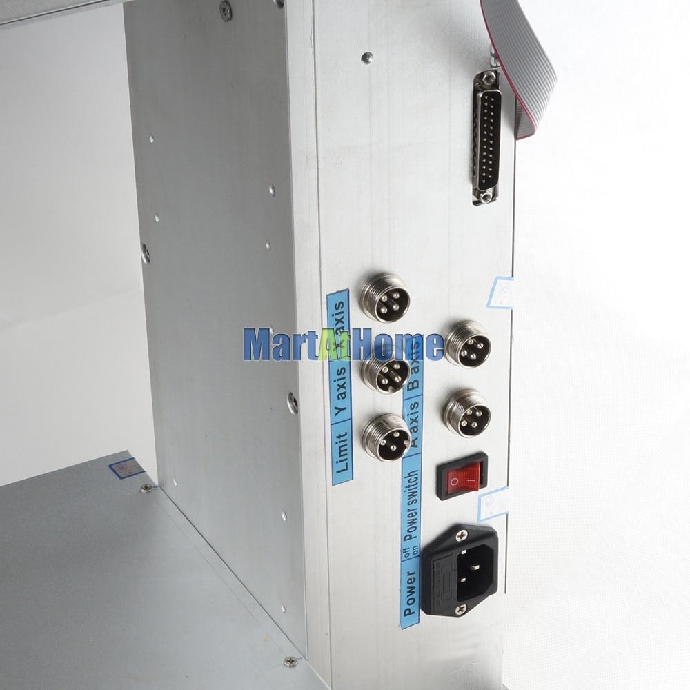 Nagy pontosságú, 1,5 kW teljesítményű, 4 tengelyes 3040 CNC - Famegmunkáló berendezések - Fénykép 4