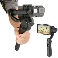 Zhiyun Smooth Q font b Gimbal b font 3 Axis Handheld Video Stabilizer Steadicam APP control
