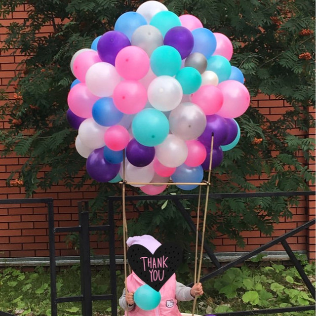50pcs Pink Tiffany Latex Balloon For Wedding Birthday Baby Shower