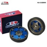 For BMW M20 3 Series engine Racing Aluminum Billet 2PC Pulley Sprocket Timing Cam Gear Blue Blox HU CGBMW