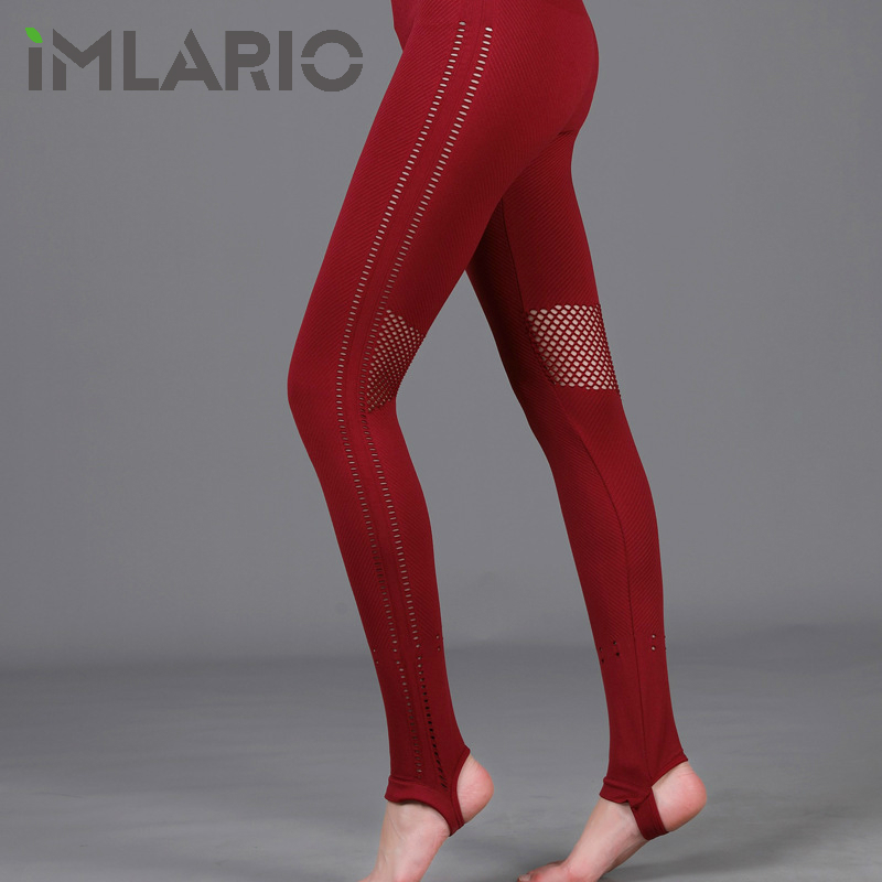 Imlario Seamless Workout Leggings Extra Long Sport Yoga Pants High Elastic Stirrup Gym Clothes Fitness Pants Over The Heel all over florals pants