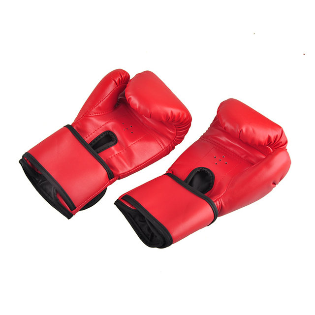 online shop brand pu leather boxing gloves kickboxing mma training