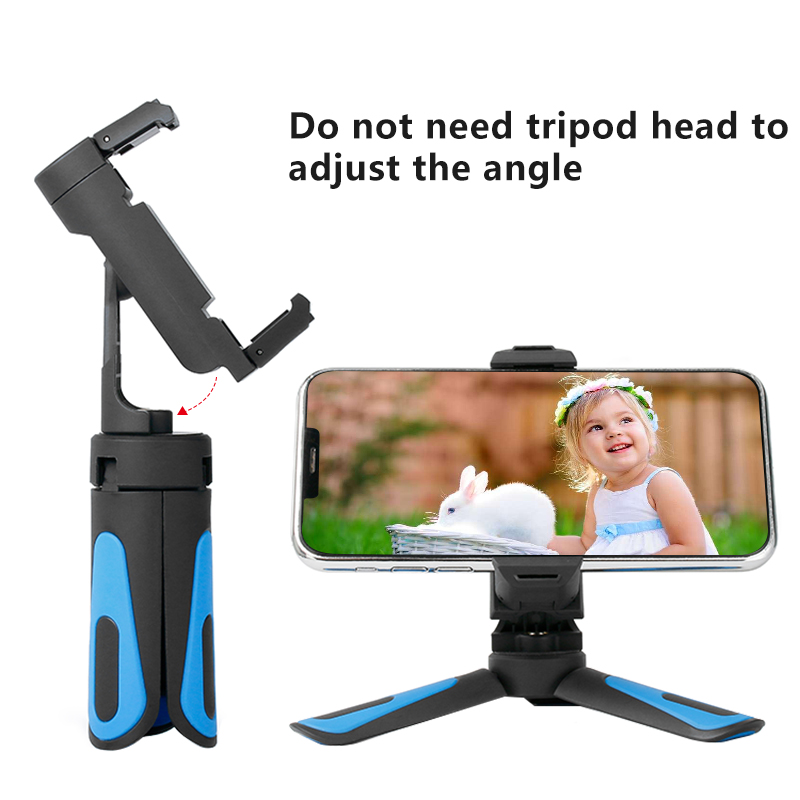 360 Rotation Vertical Shooting 2 in 1 Mini Tripod Phone Mount Holdr for iPhone Xs Max Xs X 8 7 Plus Samsung S8 S9 Piexl 2 3 360 Rotation Vertical Shooting 2 in 1 Mini Tripod Phone Mount Holdr for iPhone Xs Max Xs X 8 7 Plus Samsung S8 S9 Piexl 2 3