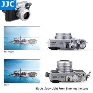 Image 3 - JJC Metal Lens Hood Screw Adapter Ring 49mm for FUJIFILM X100 FUJIFILM X100S FUJIFILM X100T Camera Replaces Fuji LH X100