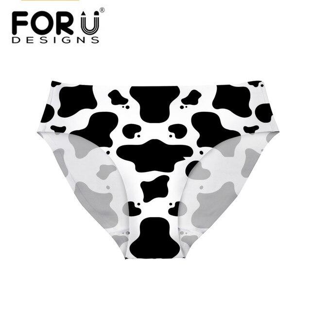 Foru Дизайн S танкини купальники бикини Низ Симпатичные коровы Дизайн Одежда заплыва Мужские Шорты для купания Для женщин пикантные Купальники для малышек Шорты для женщин Бразильский Трусики для женщин стринги