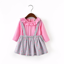 Mother Kids - Childrens Clothing - Godier Princess Baby Girls Dresses Casual Style Girl Clothes Long Sleeve Dress Kids Clothes Top Vestidos Floral Frocks For Girls