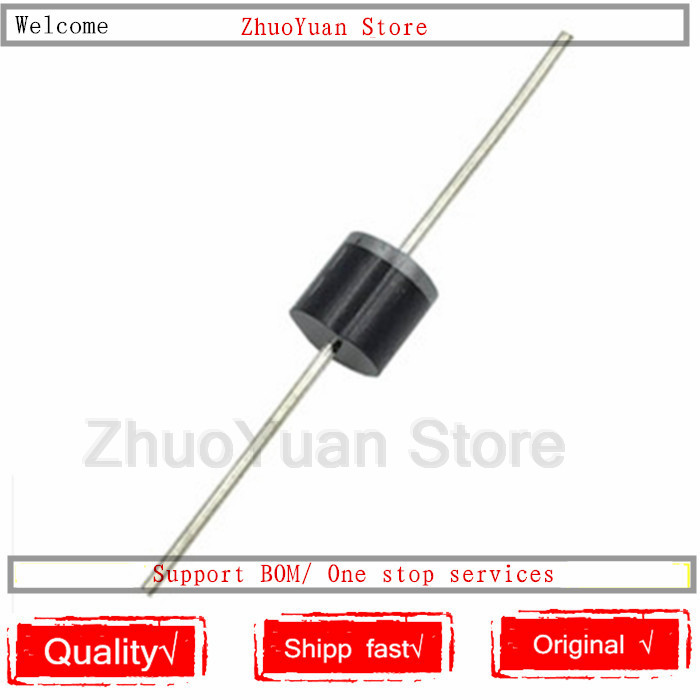 10PCS/lot 10SQ050 10A 50V Schottky Rectifiers Diode Brand New R-6