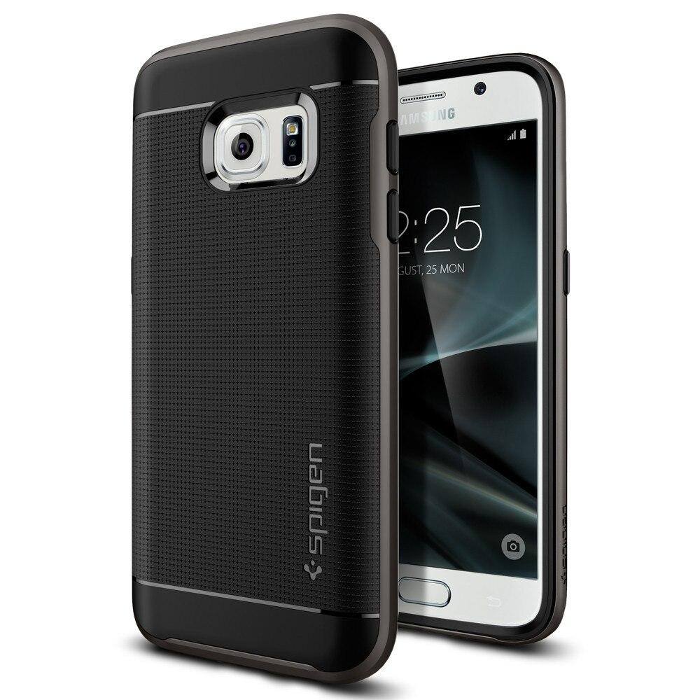 100% Оригинальный гибридный Чехол SPIGEN Neo для samsung Galaxy S7 (5,1 )