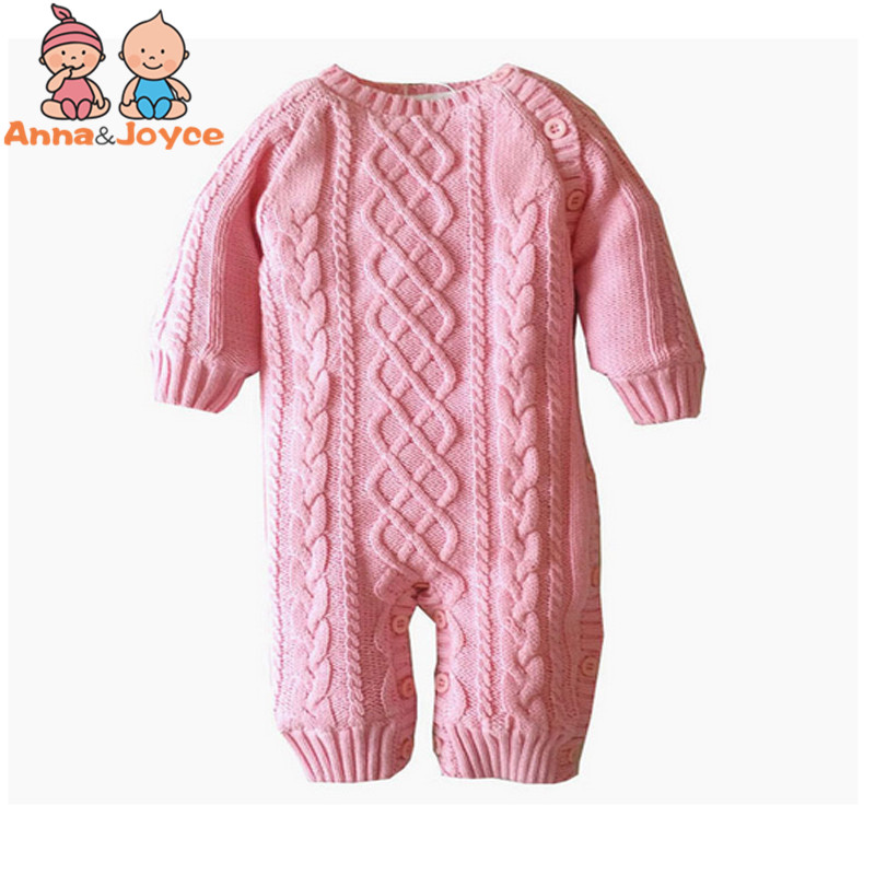 Baby Thickening Autumn and Winter Warm Soft Romper Kids Cotton Fashion Climb Clothes Suit 0-24months