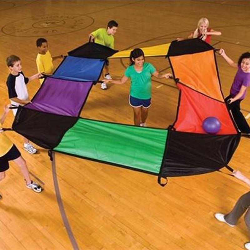 Children Outdoor Sports Toys Kindergarten Science and education series 12 color fabric sensory Training Equipment Magic Sermon