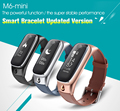 M6 mini smart bracelet bluetooth headset combo Sport Smartbands watch Pedometer Activity Sleep Monitor facebook for IOS android