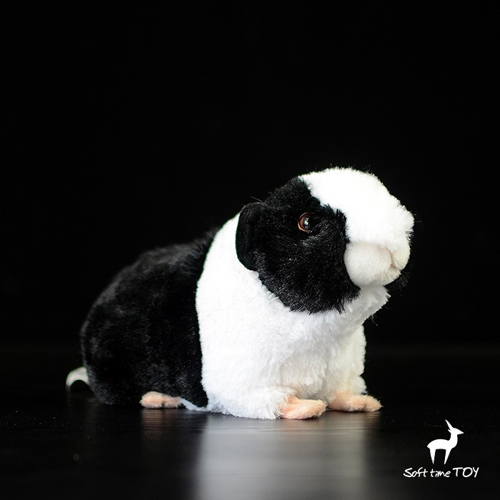 Stuffed Animals Plush Doll Toys Baby Guinea Pig High Quality Real Life Plush Car Accessories Present
