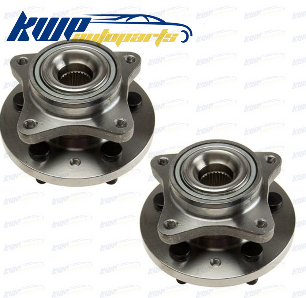 Pair of New Front Left & Right Wheel Hub Bearing Assembly For Land Rover Discover Range Rover Sport LR3 mzoragne pair of left