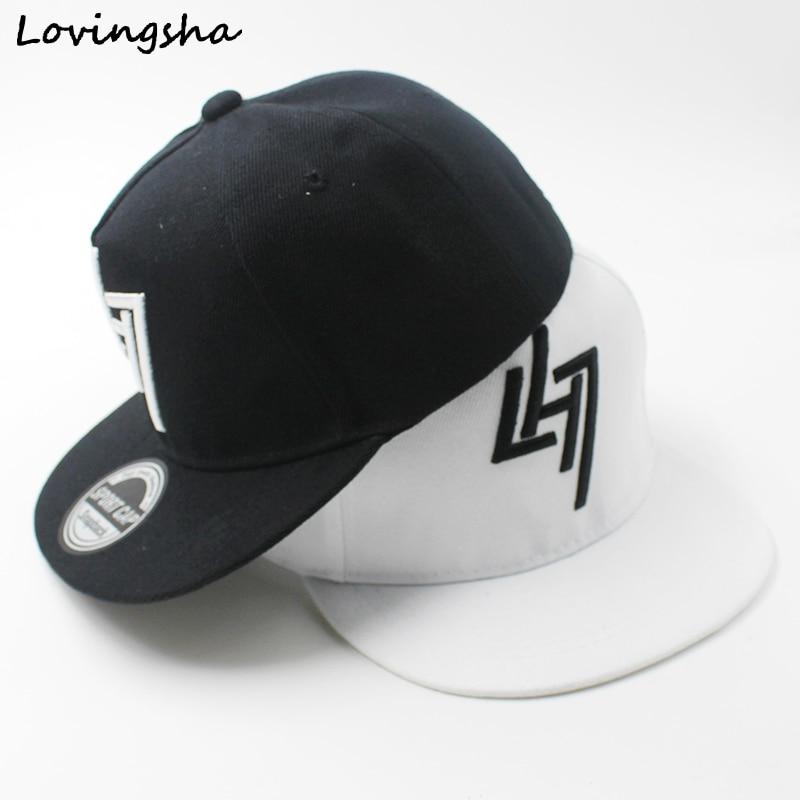 LOVINGSHA/Бейсбольные кепки для мальчиков от 3 до 8 лет, детские бейсболки с геометрическим рисунком, высококачественные регулируемые кепки для девочек, CC077