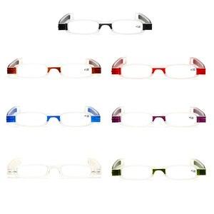 Donne degli uomini Pieghevole Occhiali Da Lettura Unisex 360 Gradi di Rotazione Da Presbite Pieghevole Occhiali
