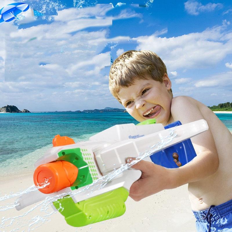 Children's High Pressure Water Rafting Water Gun Toys Pull The Big Capacity Children Beach Water Toys Water Spray Gun
