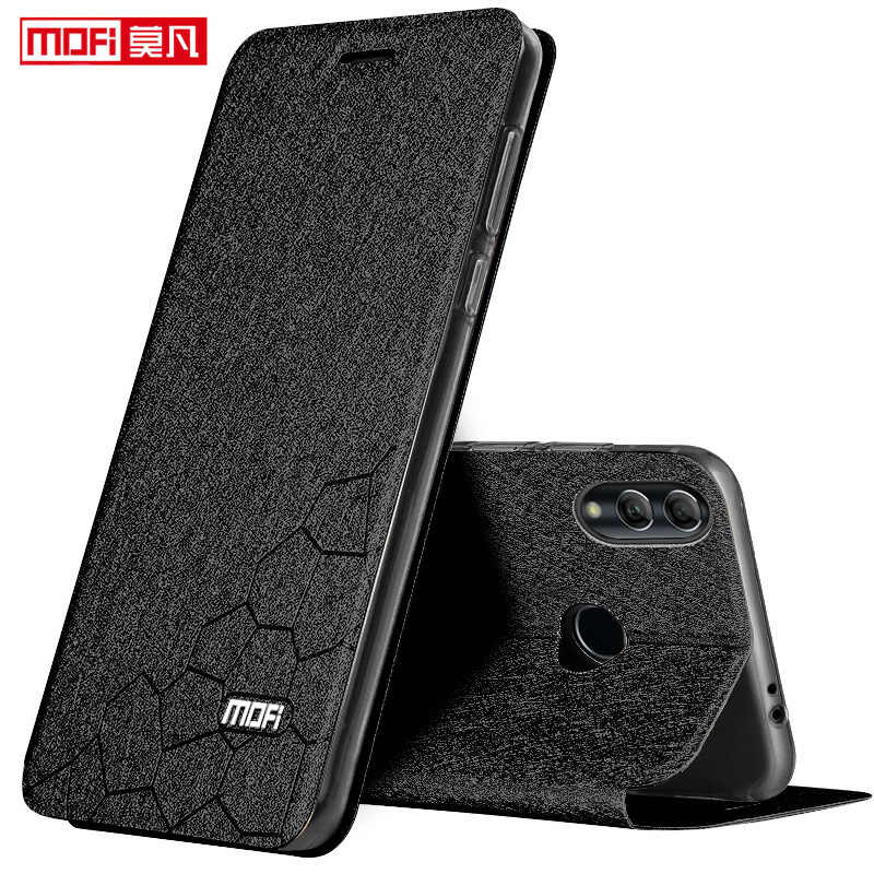 "xiaomi redmi 7 case 6.26"" xiaomi redmi 7 cover mofi flip book leather cover Xaomi Redmi 7 coque silicone luxury glitter Redmi7"