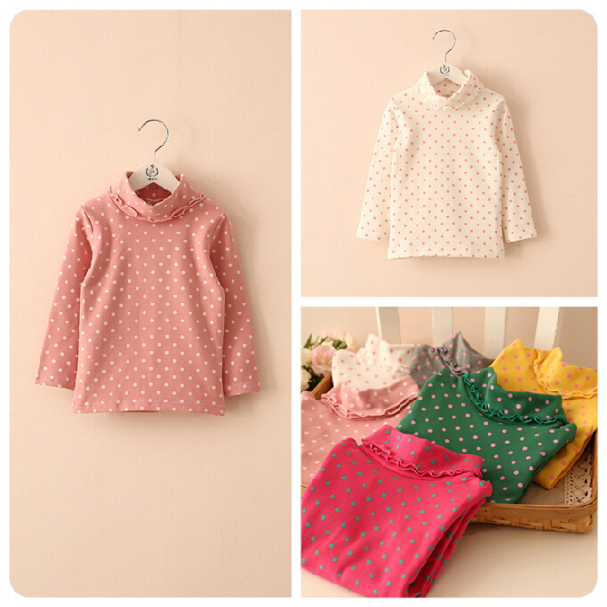 Free shipping,spring autumn,Hot sale child clothing,base shirt,baby girl long-sleeved T-shirt,Tops,Tees,Kids wear
