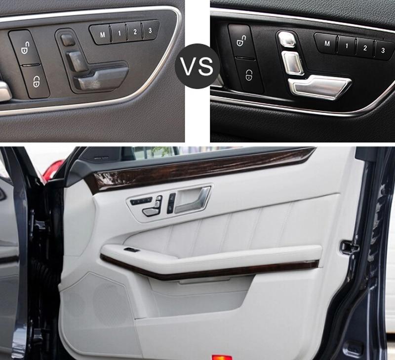 mercedes benz 2014 e class interior. aliexpresscom buy 2010 2015 for mercedes benz e class w212 e200 e250 e300 e350 interior auto seat adjustment button trim 6pcs from reliable 2014
