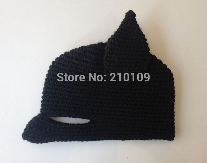 Mrkooky Novelty Handmade Winter Beanie Crochet Cool Batman Mask