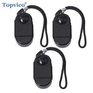 Image 1 - Topvico 3pcs Camping Travel Portable Mini PIR Infrared Motion Sensor Detector Alarm 120dB Wireless Home Security Anti theft