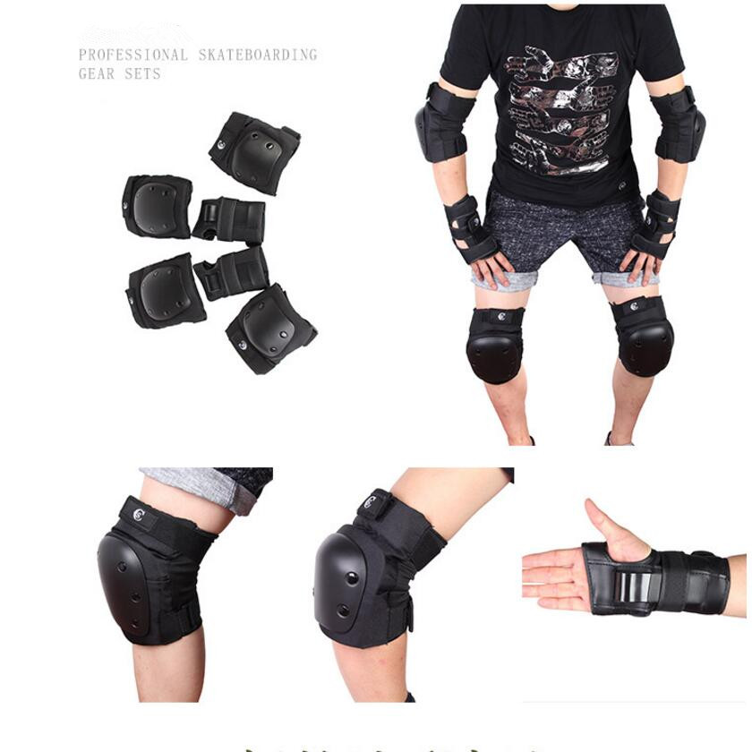 Quality New TOO 1 set skate knee and Elbow protection for man or woman skateboard and roller skate or snow skating protection