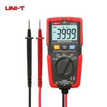 UNI-T UT125C Pocket Size Digital Multimeter DC/AC 400uA~400mA Resistor Capacitor Frequency Diode Test Low Voltage Display