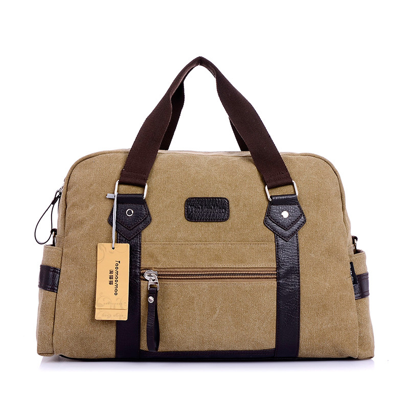 Online Shop New men's women's Fashion handbag casual canvas travel ...
