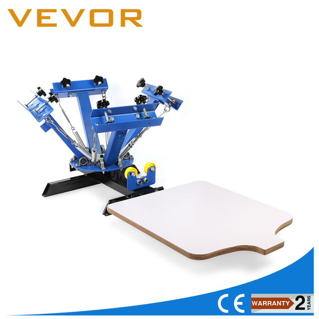 2afd1dc81 4 Color 1 Station Silk Screen Printing Machine 4 1 Press DIY T Shirt  Printing-in Tool Parts from Tools on Aliexpress.com | Alibaba Group