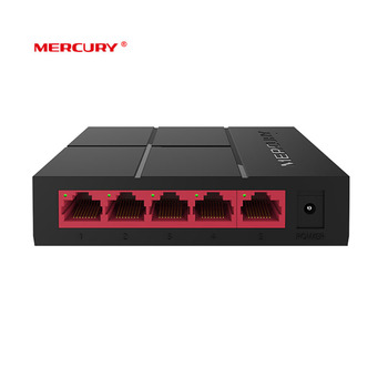 MERCURY SG105M Mini Gigabit Switch 5 Port RJ45 10/100/1000Mbps Network Switch Desktop Switch Hub Soho home switch