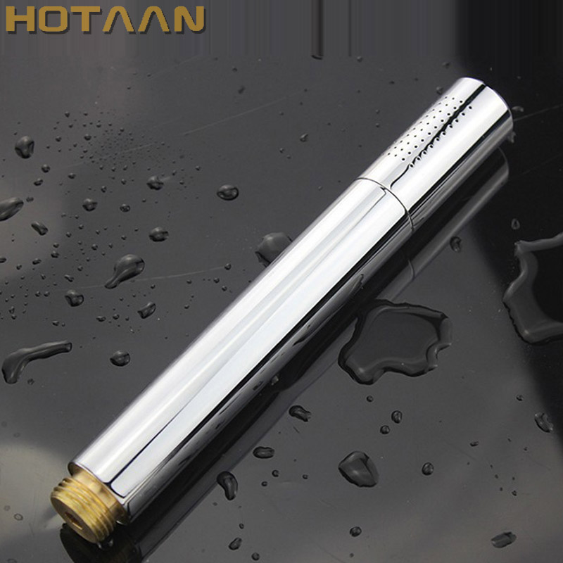 HOTAAN 2017 Newly  Free Shipping Solid Brass Handheld Shower Head Chrome Finished Water Saving Hand Shower Sprayer YT-5107