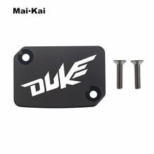 MAIKAI For KTM Duke 125 2013-2016 200 CNC Aluminum Motorcycle Brake Fluid Fuel Tank Cap Cover
