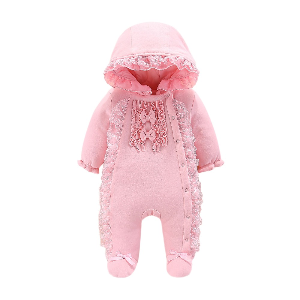 Lawadka Baby   Rompers   Cotton Baby Girls Clothes Christmas Newborn Clothing Winter Warm Baby 0-3 Months Girls Clothes