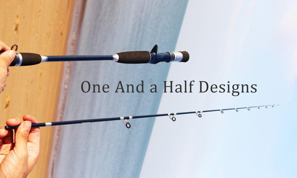 fundição oceano vara de pesca barco um e meio design