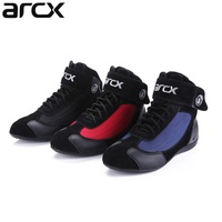 Free shipping 1pair Windproof Short Ankle Touring Casual Racing Motorbike Motorcycle Boots Shoes
