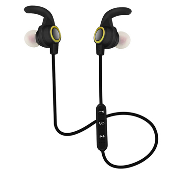 Calf Horn Bluetooth Headset Stereo Earphone Smart Noise Reduction Sport Bluetooth4.1 Headphone with Mic for iPhone X 7P Xiaomi