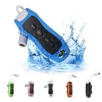 MAHA 8GB MP3 odtwarzacz pływanie podwodne nurkowanie Spa + Radio FM wodoodporna Surfing słuchawki biały/niebieski/zielony /różowy/czarny/pomarańczowy