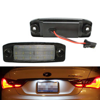 Direct Fit White LED License Plate Lights Lamps For 2011 Hyundai Sonata I45