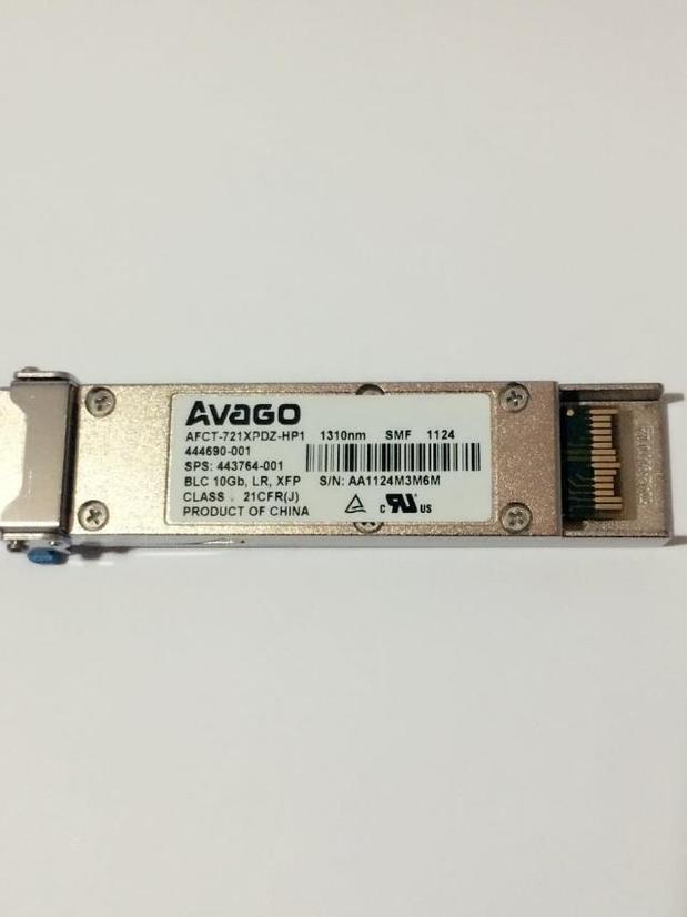 Original AVAGO AFCT-721XPDZ-HP1 1310nm SMF BLC 10Gb LR XFPOriginal AVAGO AFCT-721XPDZ-HP1 1310nm SMF BLC 10Gb LR XFP