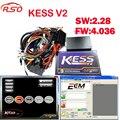 Новейшие v2.28 Kess OBD2 Тюнинг Комплект KESS V2 FW4.036 SW2.28 Чип-Тюнинг ECU инструмент + бесплатная ECM Titanium программное обеспечение БЕСПЛАТНО корабль
