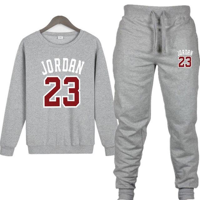 59da745b New 2019 Brand New Fashion JORDAN 23 men women Sportswear Print Men  Pullover Hip Hop Mens tracksuit Sweatshirts Clothing