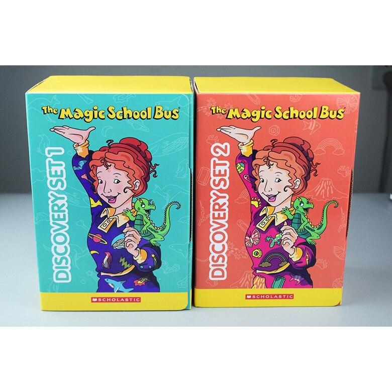 La escuela de magia autobús descubrimiento Libro 1 y 2 leer versión niños aventura inglés libros de historia para los niños de cómic libros