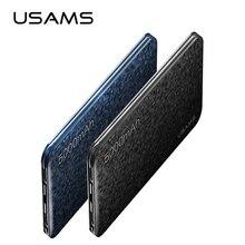 Внешний аккумулятор USAMS Mosaic ультра тонкий 5000 мАч Внешний аккумулятор для мобильного телефона iPhone