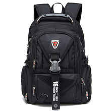 daac08d08ff8 New 2018 Swiss Travel laptop Backpack Men School Bags For Students Fashion  Business Rucksack 17 inch