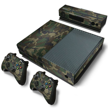 Camouflage Game Cosole Decal Skin Stickers Voor Xbox Een Console Vinyl Skin + 2 Stuks Controller Stickers