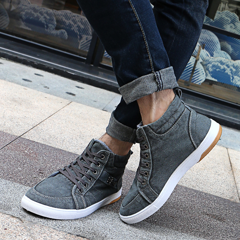 new mens Casual Shoes canvas shoes for men Lace-up Breathable fashion spring autumn Flats pu Leather fashion suede size39-44  spring autumn new men driving shoes fashion breathable leather casual shoes korean version lace up rubber men shoes z180