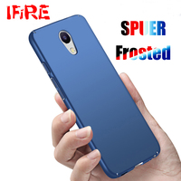 Luxury Hard Frosted Matte Phone Case For Meizu M5 M5s M5C Case PC Full Body Cover For Meizu U10 U20 Scrub Protective Shell Coque