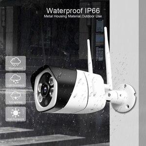 Image 5 - Caméra HD 5MP Wifi IP ONVIF 1080P sans fil filaire CCTV caméra de balle en plein air deux voies Audio TF fente pour carte Max 64G IR 20m P2P iCsee