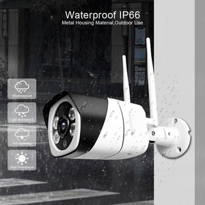 Image 5 - HD 5MP Wifi IP Camera ONVIF 1080P Wireless Wired CCTV Bullet Camera Outdoor Two Way Audio TF Card Slot Max 64G IR 20m P2P iCsee